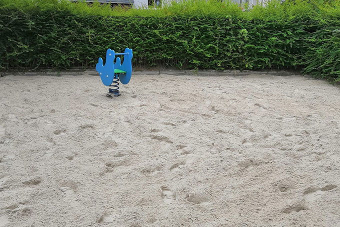 before-after sand- and gravel cleaning
