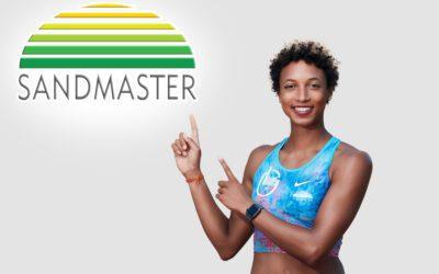 Sandmaster Brand Ambassador again Athlete of the Year