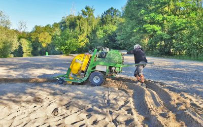 Sand cleaning according to the Sandmaster process