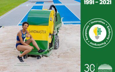 Sandmaster celebrates its 30th company anniversary